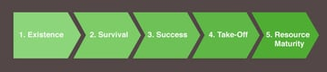 5 stages of business small growth