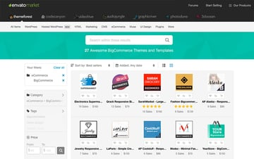 Envato Marketplace eCommerce branding