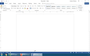 Change Your Microsoft Office Theme in Word to White