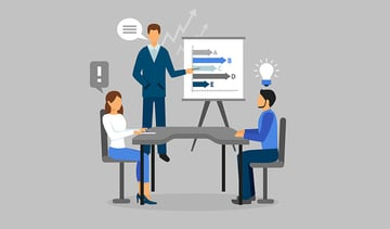 Practice giving your 5 minute presentation with colleagues or friends