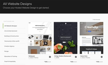 Envato hosted business website hosting and installation