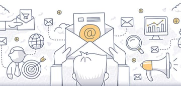 Different types of email for marketing