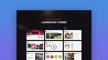 Landbook Mac Custom Keynote Presentation Template