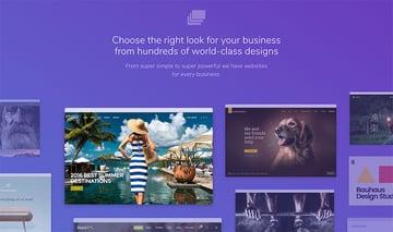 Envato Hosted site designs