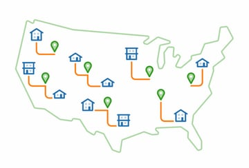 ShipBob eCommerce order fulfillment centers across US