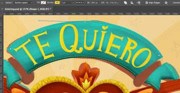 Decorative dashed lines in Photoshop
