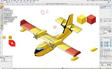 Complex Isometric Illustration Process