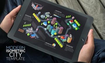Modern Isometric City Template