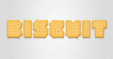 How to Create a Realistic Biscuit Style With Only One Shape in Adobe Illustrator