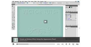 Quick Tip Create an Emboss Effect Using the Appearance Panel