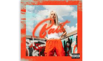Colorful Mixtape Cover Design Template for a Hip Hop Artist