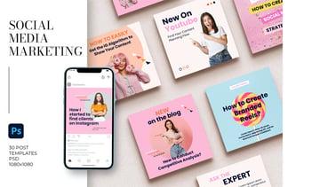 Social Media Marketing Templates