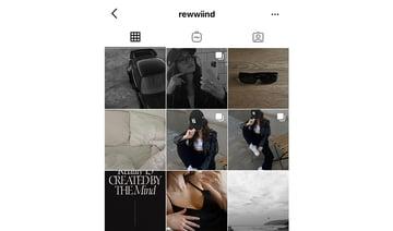 Monochromatic Instagram account