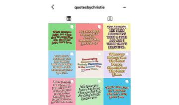 Quotes Instagram account