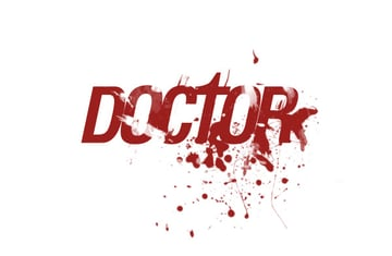 Sample of Text Effect using Blood Brushes