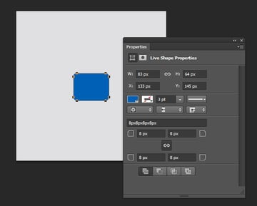 Designing Icon Base - Draw a rounded rectangle