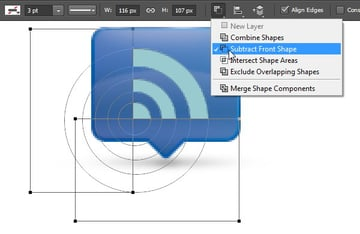 Add Icon Sign - Subtract with two rectangles