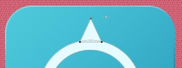 Add triangle path