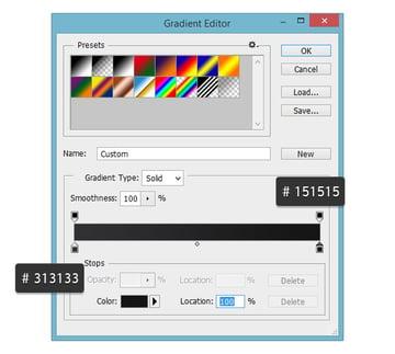 Gradient Editor for Stroke
