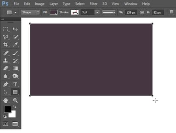 Draw rectangular shape for the screen