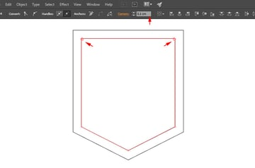 Add corner radius