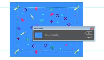 Click Edit Define Pattern to save pattern