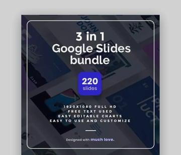 3-in-1 Google Slide Template Bundle