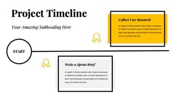 Oxygen Google Slides Timeline Template