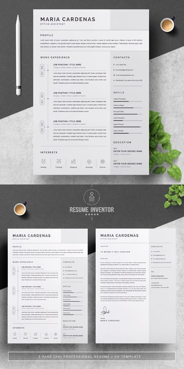 One-Page Resume Template