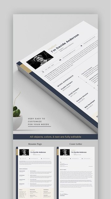 Clean and Modern Resume Template