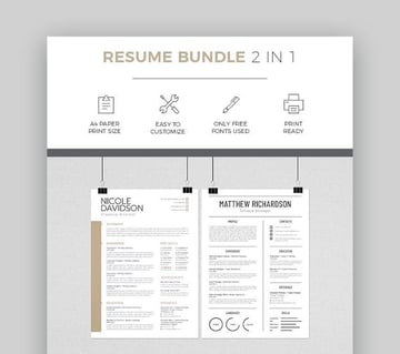 Resume Bundle 2-in-1 Template