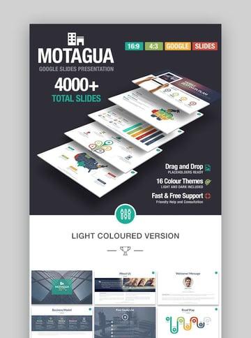 Business Presentation Templates - Motagua for Google Slides