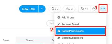 Mondaycom Board Permissions