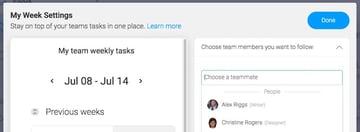 Mondaycom Weekly Tasks Widget