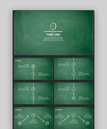 Creative Timeline Template - Sketch