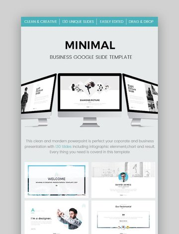 Minimal Business Google Slides Template