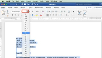 How to Change Font Size in Word