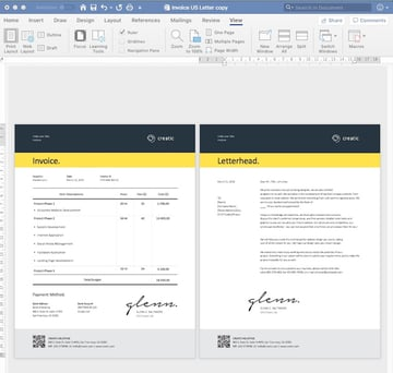 How to Create a Letter in Word Using a Template