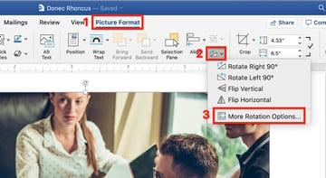 Microsoft Word - More Rotation Options