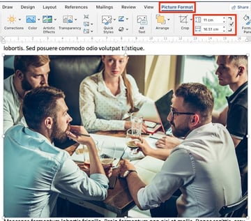 How to Resize Pictures in Word