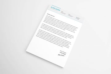 Simple Microsoft Word cover letter template
