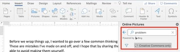 Microsoft clip art - search