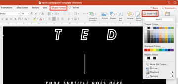 ebook template powerpoint