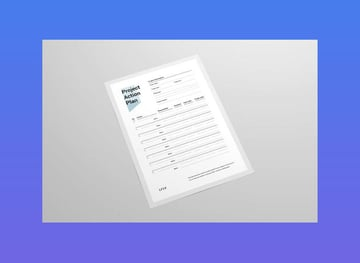 project action plan template word
