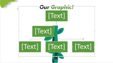 family tree powerpoint - smartart organization chart