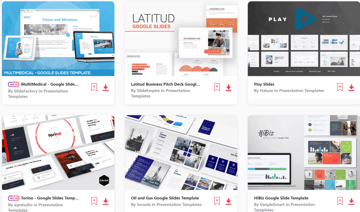 What is an Infographic - examples from Envato Elements
