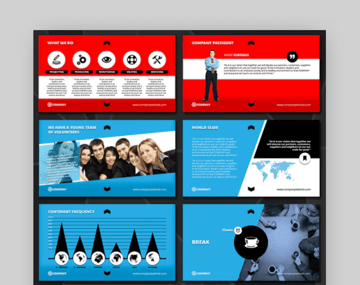 BigCompany organizational chart template