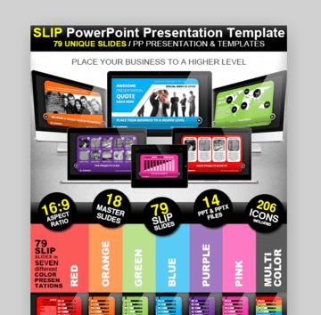 Slip organizational chart powerpoint