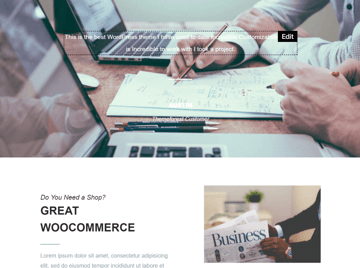 Replace Placeholder Text in Mailchimp responsive email newsletter template