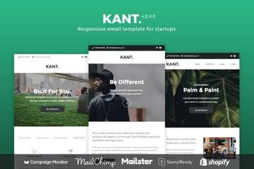 mailchimp newsletter templates  - Kant